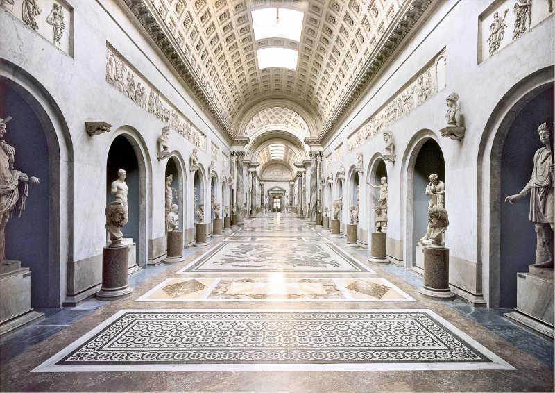 Musei Vaticani inaugurazione Braccio Nuovo