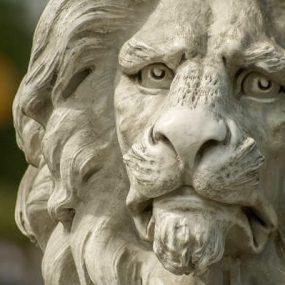 Riproduzioni leoni d'arte 3D