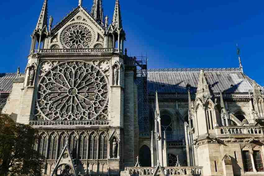 Notre-Dame e i rilievi digitali 3D