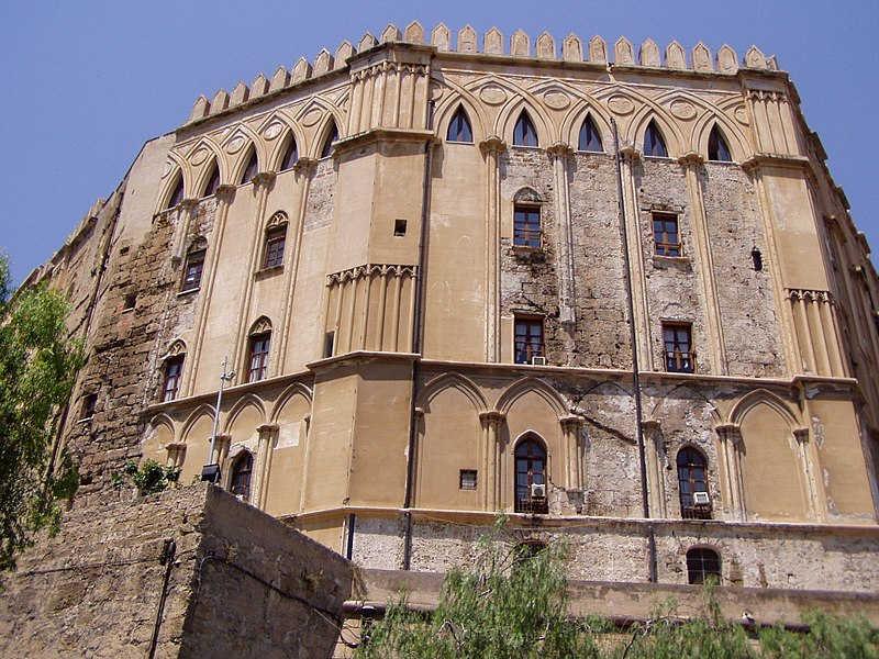Palazzo Reale Palermo - Leoni 3D