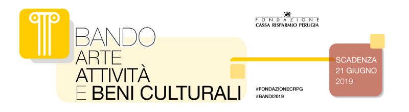 """Bando 4/2019 """"Conservazione preventiva e programmata dei beni culturali"""" – Arte, attività e beni culturali"""