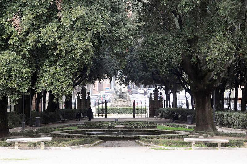 Ricostruzione Arco dell'Arcadia Giardini Frontone Perugia
