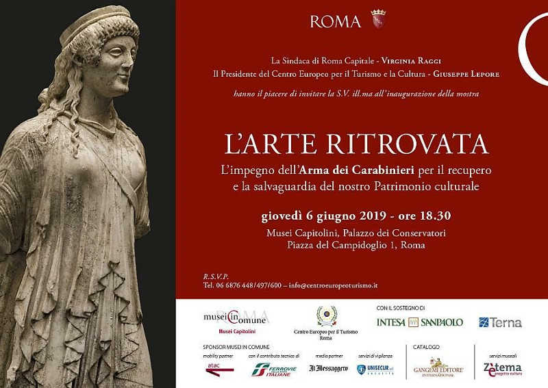 L'arte ritrovata - Mostra ai Musei Capitolini a Roma