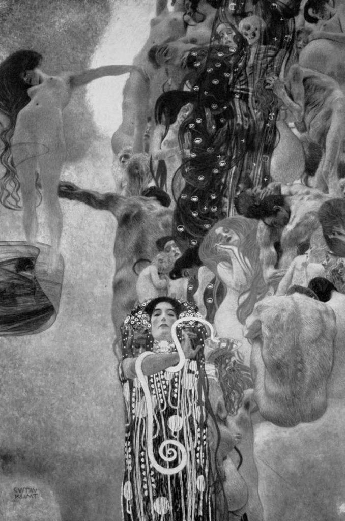 """""""Medicina"""" di Gustav Klimt"""